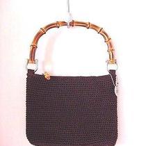 The Sak Brown Crochet  Handbag Photo