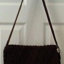 The Sak Brown Crochet Shoulder Bag Photo