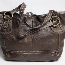 The Sak Brown Large Bag Tote Purse  Photo