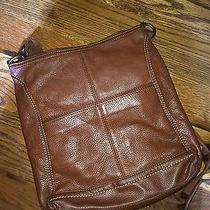 The Sak Brown Leather Crossbodh Photo