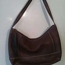 The Sak Brown Leather Pocketbook Photo