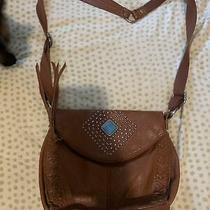 The Sak Brown Teal Stine Beaded Purse Photo