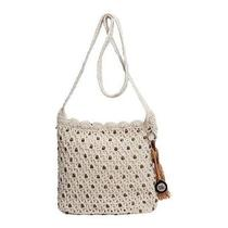 The Sak Casual Classics Crossbody Natural With Wood Beads Photo