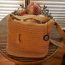 The Sak Casual Crochet Bamboo Crocheted Handbag Purse Shoulder Bag Nwot Photo