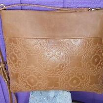 The Sak Collective Tomboy Embossed Convertible Crossbody Clutch Ew Shoulder Bag  Photo