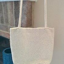 The Sak Cream Knit Handbag Photo