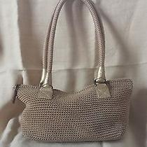 The Sak Crochet and Leather  Purse Photo