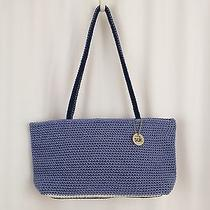 The Sak Crochet  Bag Blue  Photo