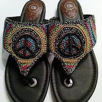 The Sak Crochet Beaded Sandals Photo
