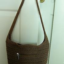 The Sak Crochet Brown Handbag Photo