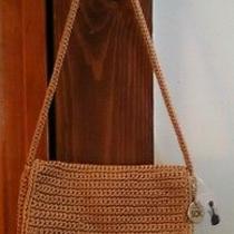 The Sak Crochet Camel Handbag Photo