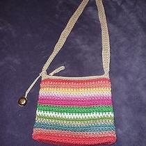 The Sak Crochet Cross Body Bag Beach Stripe Photo