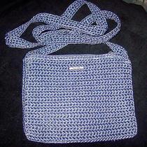 The Sak Crochet Cross Body Shoulder  Purse New Great Gift Photo