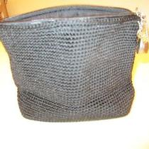 The Sak Crochet Handbag Black Photo