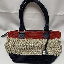 The Sak Crochet Handbag Red/white/blue  Photo