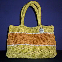 The Sak Crochet Handbag Tote Photo