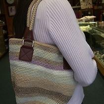 The Sak Crochet Hobo Handbag Photo