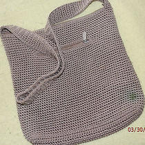 The Sak Crochet Knit Taupe  Woven Handbag   Photo