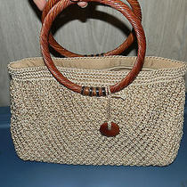 The Sak Crochet Knit Woven Handbag   Photo