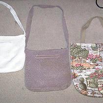 The Sak Crochet Shoulder Bag Purse  2 Other Shoulder Bags - Read Description Photo