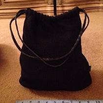 The Sak Crocheted Black Bag Photo