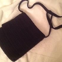 The Sak Crocheted Black Crossbody Photo
