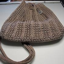 The Sak Crocheted Purse Handbag Taupe Photo