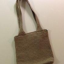 The Sak Crocheted Shoulder Bag Handbag Purse Photo