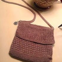 The Sak Crocheted Taupe Handbag Photo
