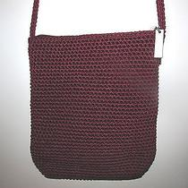 The Sak  Crossbody Purse  Like New  Cranberry Red Photo