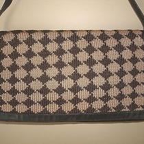 The Sak Elliott Lucca Brown Houndstooth Check Convertible Clutch & Shoulder Bag  Photo