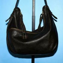 The Sak Espresso Brown Pebbled Leather Shoulder Hobo Compartment Purse Bag Photo