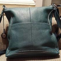 The Sak Genuine Leather Crossbody Teal Leather Photo