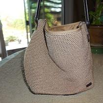 The Sak Gold Color Crochet  Shoulder Bag  Photo