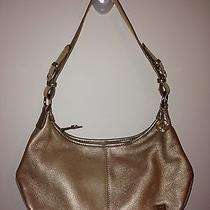 The Sak Gold Shoulder Bag Photo