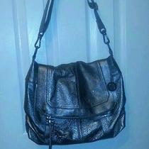 The Sak Graphite Silverlake Crossbody Purse Bag Photo