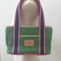The Sak Green and Pink Handbag Photo
