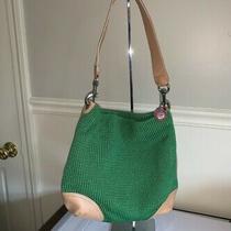 The Sak Green Crochet Hobo Bag Photo