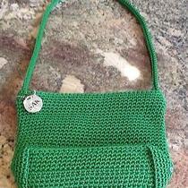 The Sak Green Crochet  Purse Photo