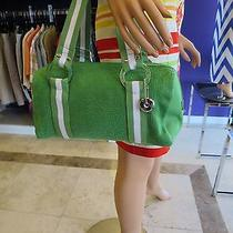 The Sak Green Knit Satchel Photo
