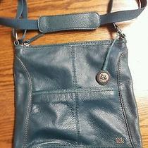 The Sak Green Leather Purse Photo