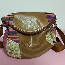 The Sak Handbag Leather Macys Brown Multi-Color Medium Photo