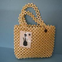 The Sak - Handbag / Purse / Satchel - Pearl Ized - Vintage Photo