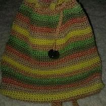 The Sak Handbag Purse Tote Very Nice Spring Summer Beautiful Bright Colors Photo