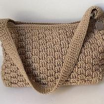 The Sak Handbah Beige Crochet Photo