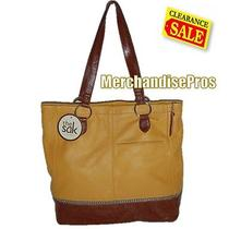 The Sak 'Iris' Genuine Leather Tote Shoulder Bag Purse New With Tags Photo