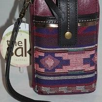 The Sak Iris Smartphone Iphone Wristlet Bordeaux Tribal Style 105474 Nwt Photo