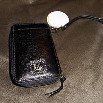 The Sak Iris Style 105474 Black Smartphone Iphone Wristlet Purse Photo