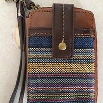 The Sak Iris Tribal Smart Phone Iphone Wristlet Nwt Photo