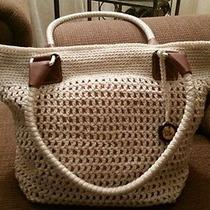 The Sak.....ivory Crochet Handbag. Photo